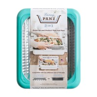 Fancy Panz Fancy Panz-  2 in 1 - Aqua - Dress up and Protect your Foil Pan!