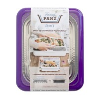 Fancy Panz Fancy Panz-  2 in 1 - Purple - Dress up and Protect your Foil Pan!