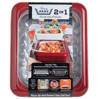 Fancy Panz Fancy Panz-  2 in 1 - Red - Dress up and Protect your Foil Pan!