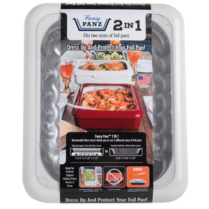Fancy Panz Fancy Panz-  2 in 1 - White - Dress up and Protect your Foil Pan!