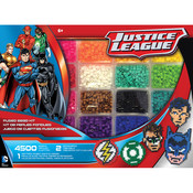 CR Gibson Perler Beads - DC Comics Justice League Deluxe Kit - 4500 Beads