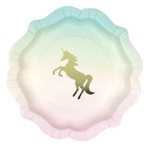 Talking Tables We Heart Unicorns Plate (12Pk, 1 Design)