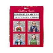 Talking Tables Christmas Entertainment - Christmas Jumper Plastic Bibs (Pk8)