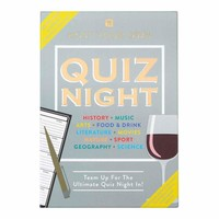 Talking Tables Host Your Own - Quiz Night Game