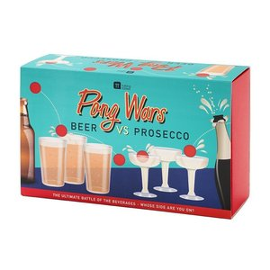 Talking Tables Pong Wars - Beer VS Prosecco