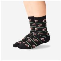 Hot Sox (Youth) Football Socks - Black
