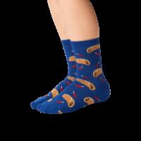 Hot Sox (Youth) Taco Socks - Dark Blue