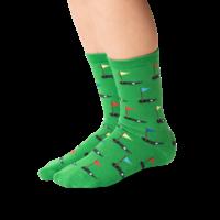 Hot Sox (Youth L/XL) Golf Socks - Green