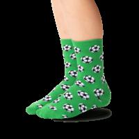 Hot Sox (Youth) Soccer Ball Socks - Green