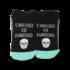 Hot Sox (Womens) Cardio is Hardio Socks - Black