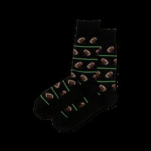 Hot Sox (Mens) Football Socks - Black