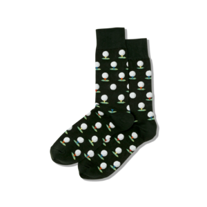 Hot Sox (Mens) Golf Socks - Olive