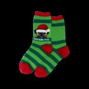 Hot Sox (Womens) Bah Humpug Socks- Green