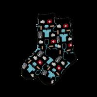 Hot Sox (Womens) Medical Socks - Black
