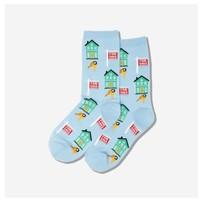 Hot Sox (Womens) Realtor Socks - Light Blue