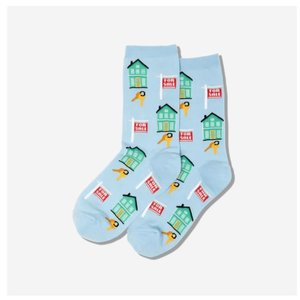 Hot Sox (Womens) Realtor Socks - Light Blue
