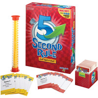 PlayMonster 5 Second Rule - Just Spit It Out Game! - 10th Annniversary Edition - Ages 10+
