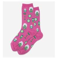 Hot Sox (Womens) Spa Facial Socks - Pink