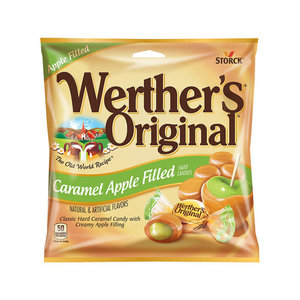 Redstone Foods Werthers Original Caramel Apple Filled Peg Bag