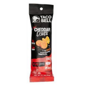 Redstone Foods Taco Bell Cheddar Crisps - Fire