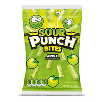 Redstone Foods Sour Punch Bites - Apple - 5 oz Peg Bag