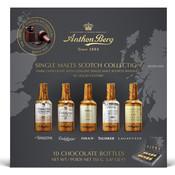Redstone Foods Anthon Berg Single Malt Scotch Bottles 10pc Box