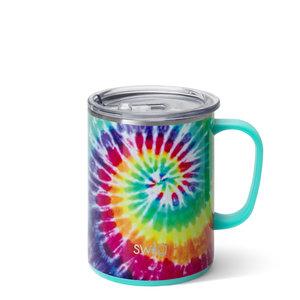 Swig 24 oz - Mega Mug - Swirled Peace Tie Dye