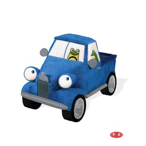 """Yottoy Productions, Inc. Little Blue Truck - 8.5"""" Plush Stuffed Toy - Toad"""