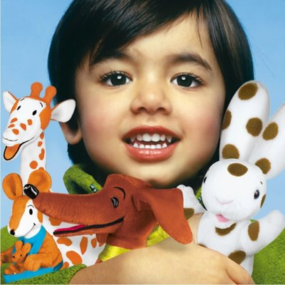 """Yottoy Productions, Inc. Cecily G. - 12"""" Plush Stuffed Animal Giraffe (from the book Curious George - Cecily G. and the 9 Monkeys)"""