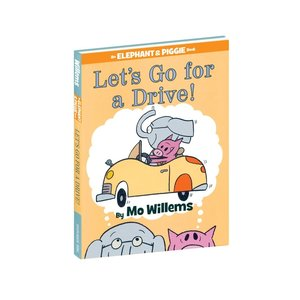 Yottoy Productions, Inc. Lets Go for a Drive - Hardcover - by Mo Willems - Elephant & Piggie