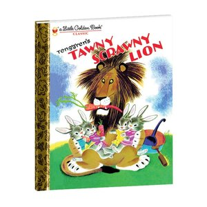 Yottoy Productions, Inc. Tawny Scrawny Lion - Hardcover Book