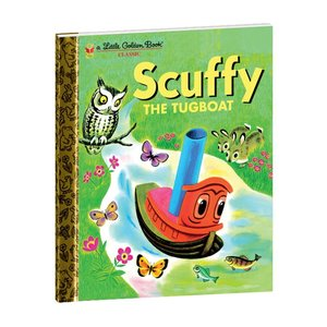 Yottoy Productions, Inc. Scuffy the Tugboat - Hardcover Book