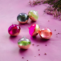 """Glitterville Not Orb-Inary Ornament, Glass 5"""""""
