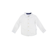 Korango Classic Shirt - Navy & White Polka Dots Button Down