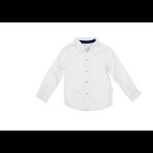 Korango Classic Shirt - Navy & White Polka Dots Button Down
