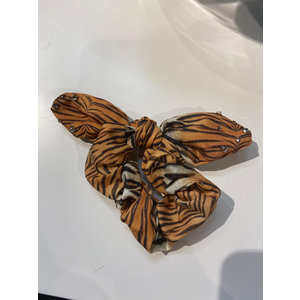 Bari Lynn Tiger Stripe Scrunchie