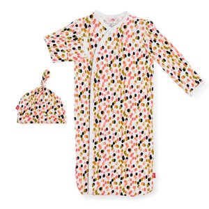 Magnetic Me Confetti Modal Magnetic Gown + Hat Set - NB-3M