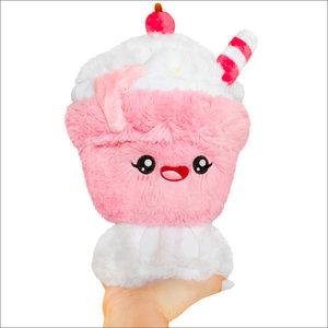 Squishables Plush Stuffed Mini Strawberry Milkshake