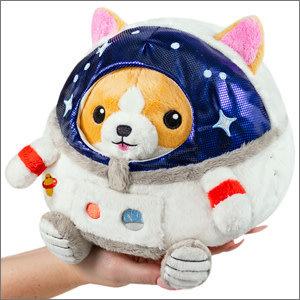 "Squishables Plush Stuffed Undercover Corgi in Astronaut (7"")"