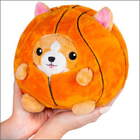 "Squishables Plush Stuffed Undercover Corgi in Basketball (7"")"