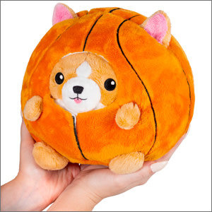 "Squishables Plush Stuffed Undercover Corgi in Basketball (7"")"