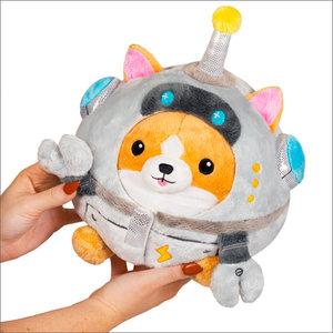 """Squishables Plush Stuffed Undercover Corgi in Robot (7"""")"""
