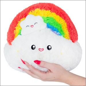 "Squishables Plush Stuffed Mini Rainbow (7"")"