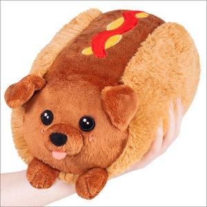 "Squishables Plush Stuffed Mini Dachshund Hot Dog (7"")"