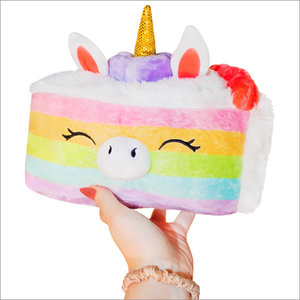 Squishables Plush Stuffed Mini Unicorn Cake