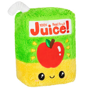"Squishables Plush Stuffed Mini Juice Box (7"")"