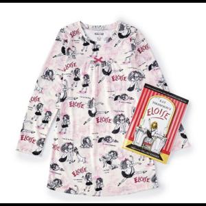 Hatley Eloise - Night Dress/Nightgown + Book (Pink) -