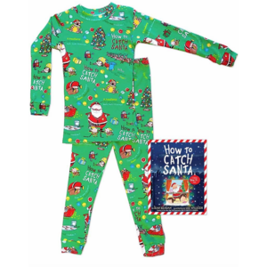 Hatley How to Catch Santa - Pajamas + Book (Hanging Set)