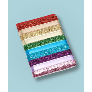 Bari Lynn Rainbow Sequin Notebook
