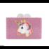 Bari Lynn Believe Unicorns - Acrylic Purse